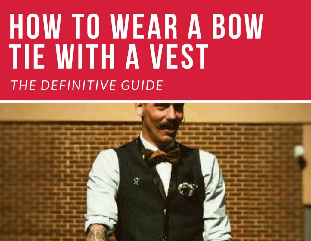 bow ties with vest